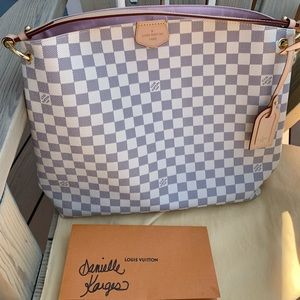 New Louis Vuitton Graceful Azur MM